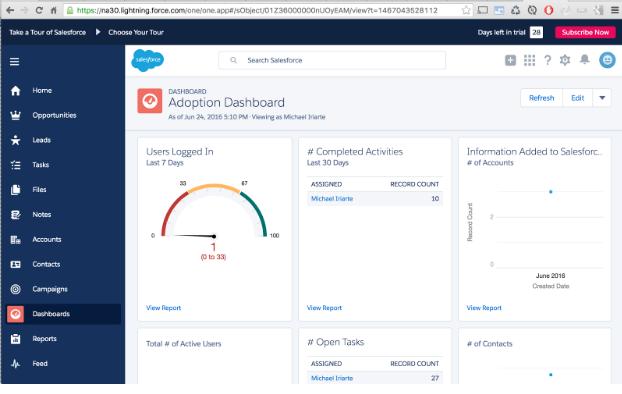 Salesforce Lightning: Webpage App Setup – Enplug Support Center